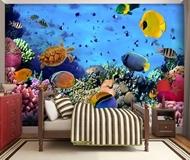 Lounge Aqua Marine Wall-Murals