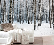 Snow Scene Wall-Murals