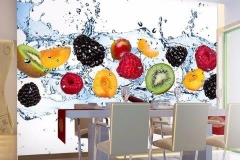 Home & Office Colourful wall mural decal