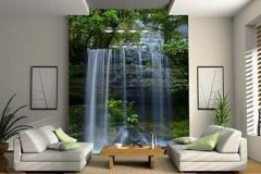 Home & Office wall mural decal waterfall print