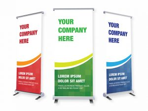 Pull Up Banners, Retractable Banners, Budget Banners